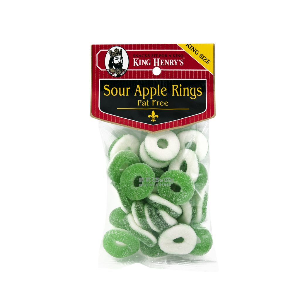 Sour Apple Rings Fat Free